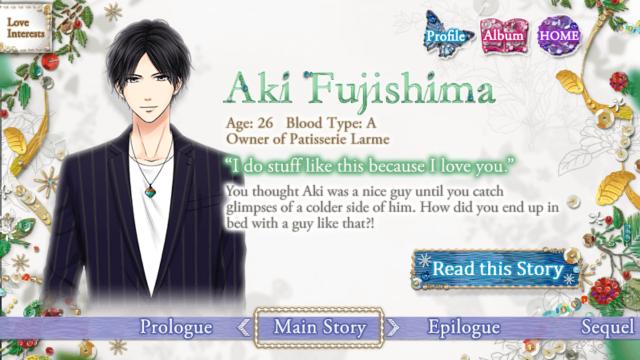 FILA Aki Fujishima main story