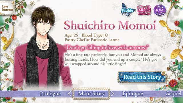 FILA Momoi Shuichiro main story