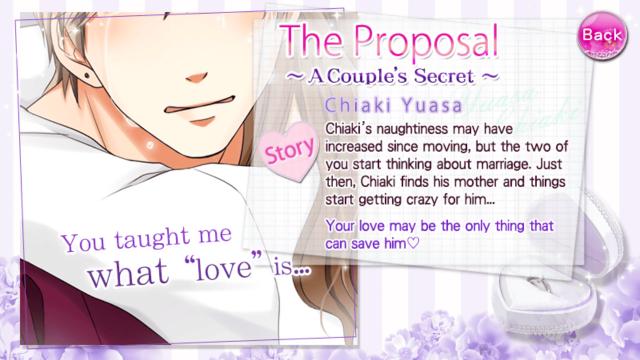 OTBS Chiaki Yuasa S2 the proposal