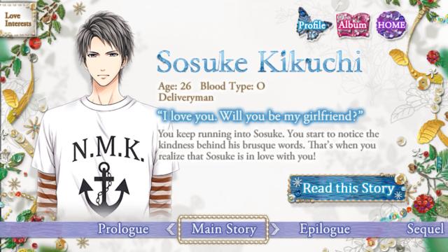 FILA Sosuke Kikuchi main story