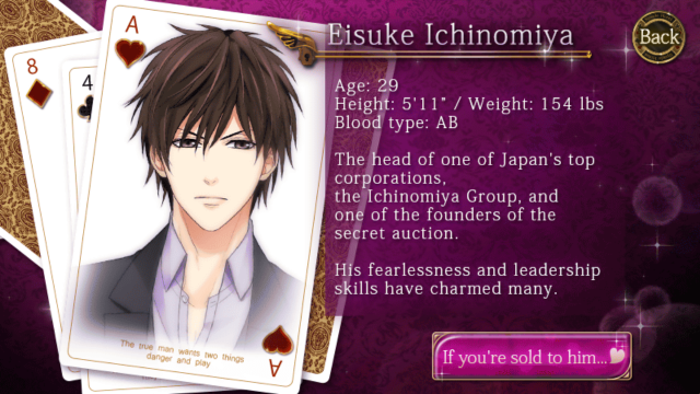 Resultado de imagen para kissed by the baddest bidder eisuke