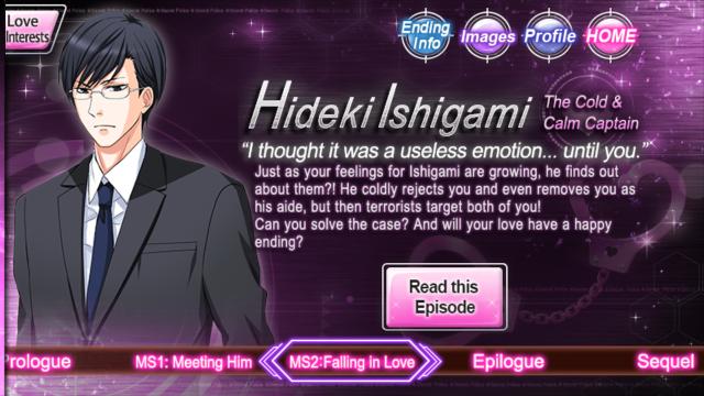 HLITF Hideki Ishigami ms2 falling in love