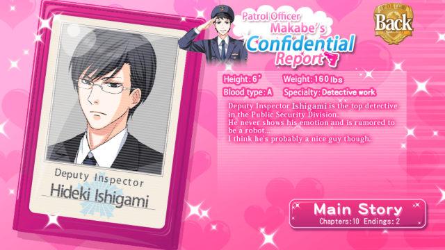 MSB Hideki Ishigami main story