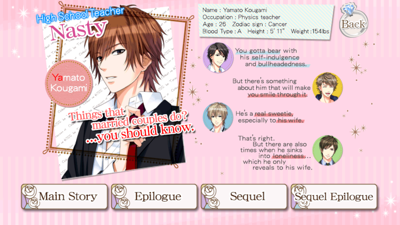 WALKTHROUGH My Wedding and 7 Rings Yamato Kougami season 1 Sequel