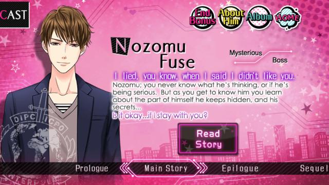 TLSL Nozomu Fuse S1 main story
