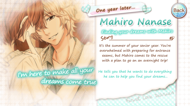 FLD Mahiro Nanase season 2 senior year