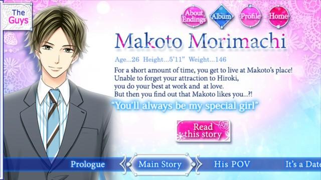 MLFK Makoto Morimachi S1 main story